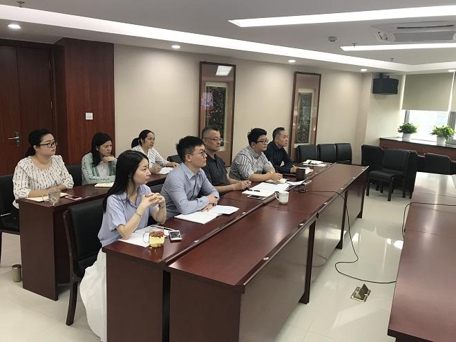 集团公司总法律顾问胡声涛组织召开深安公司制度建设及档案管理工作调研会