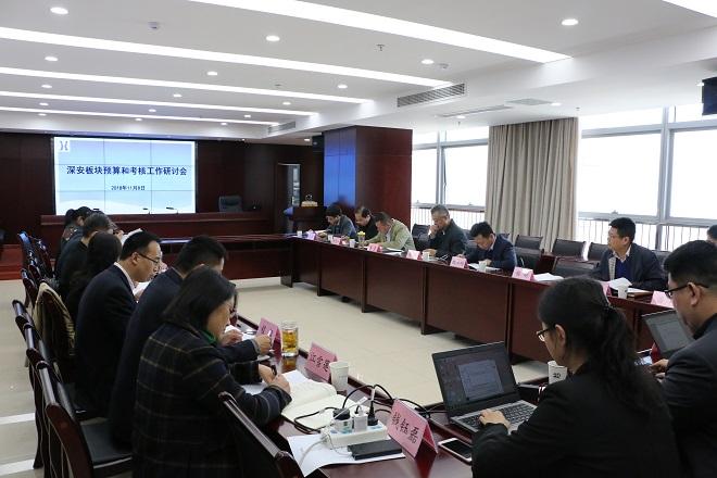 深安公司召开预算和考核工作研讨会